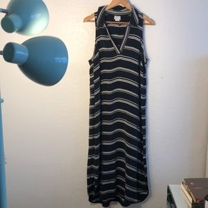 Striped maxi dress by Anthropologie